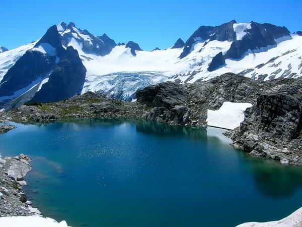 Gorgeous White Rock Lakes