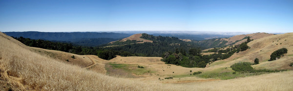 Skyline Ridge Panorama