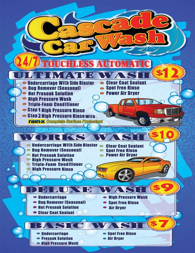 Dually Car Wash Near Me : dually, Cascade, Touchless, Automatic, System