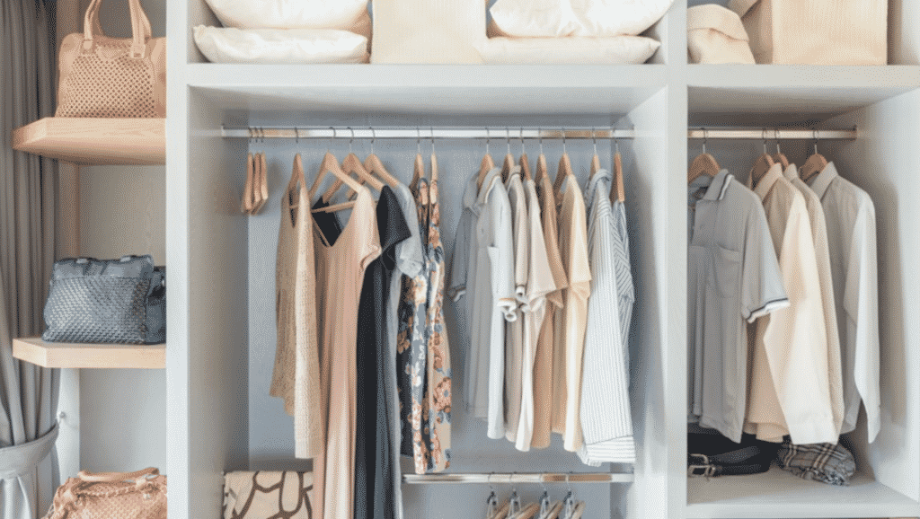 6 Tips To Organize Your Closet And Maximize The Storage Space