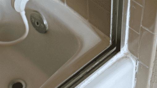 Cleaning The Shower Door Tracks