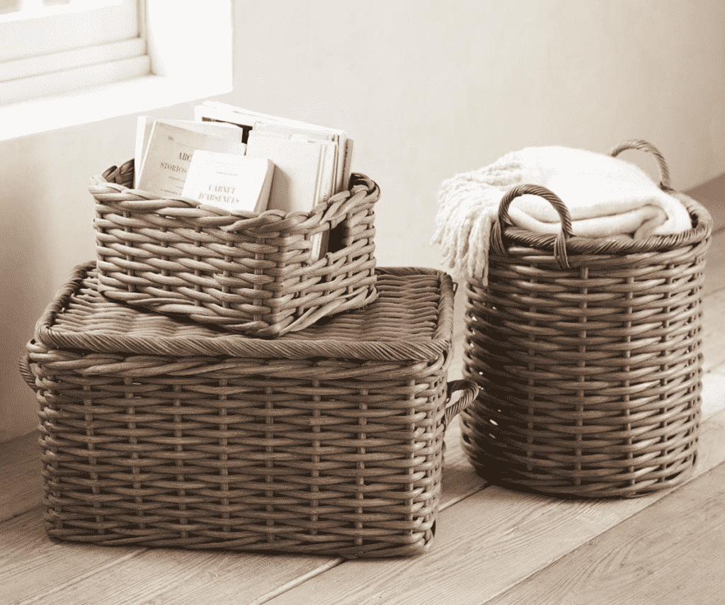 Tips On How To Keep Your Wicker Baskets Clean