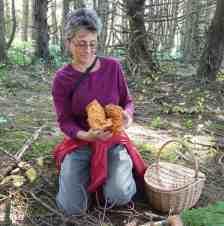 Loretta with a Lobster Mushroom