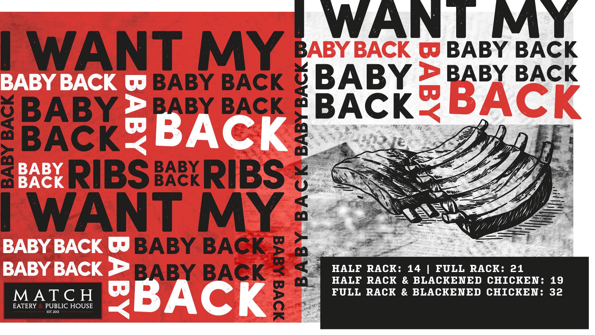 I Want My Baby Back Ribs