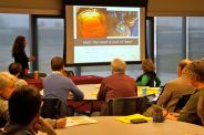 A range of issues were covered at the conference-- from malt to meat, baking to growing.