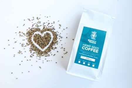 Queen Of Hearts Hemp Seed Coffee Dark 12oz