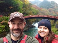 Shinkyo Bridge (Sacred Bridge) was built in 1636 and is technically part of Futarasan Shrine, about 1km away