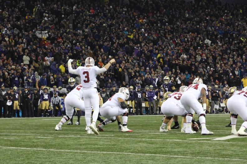 Stanford quarterback K.J. Costello