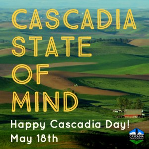Palouse Valley image promoting Cascadia Day