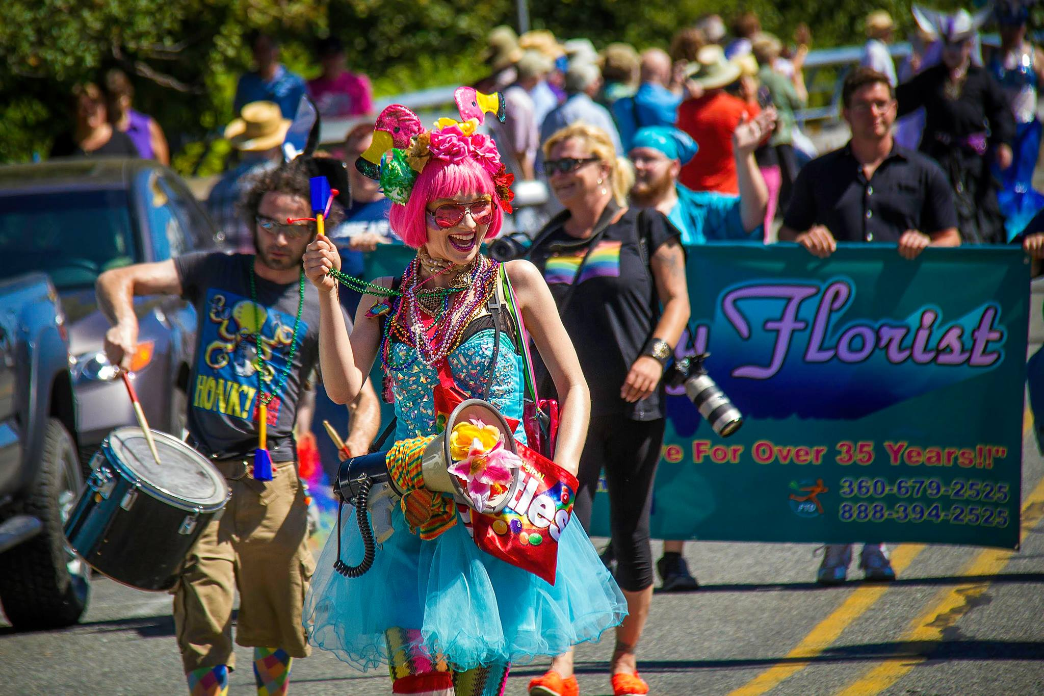 Whidbey Pride Parade 2018