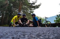 Cei trei biciclisti, Ziua 2, Transfagarasan