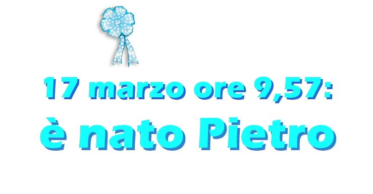 "17 marzo: ""Benvenuto Pietro!"""