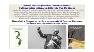 """05 giugno: """"Davide Van De Sfroos alla Lusiroeula del Parco delle Cave 2019"""""""