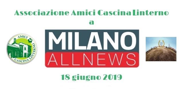 "18 giugno: ""ACL a Milano All News"""