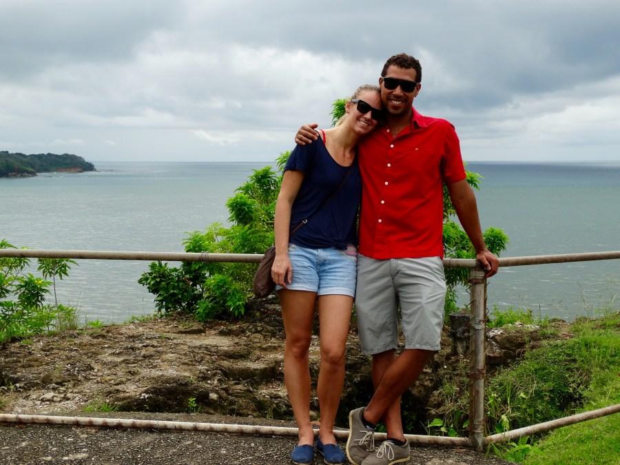Edwin Davis and Maya Pijpker, founders of Casco Yoga Panama