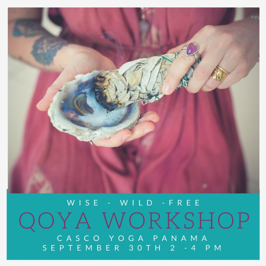 QOYA workshop, in this workshop we will invite in the superpower of SOFTNESS and how to focus more on our inner strengths rather than our outer being. Casco Yoga Panama