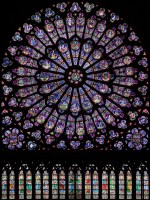 North Rose Window of Notre Dame