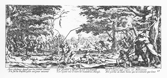 Plate 17, The Peasants' Revenge