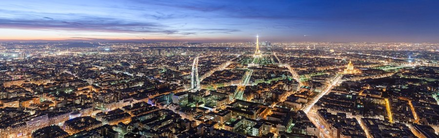 Paris at Dusk by Benh Lieu Song
