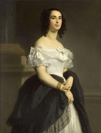 Adèle Hugo by Louis Boulanger