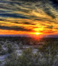 West-Texas Sunset, Yinan-Chen