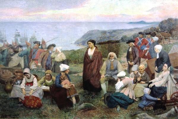 Acadians Awaiting Deportation