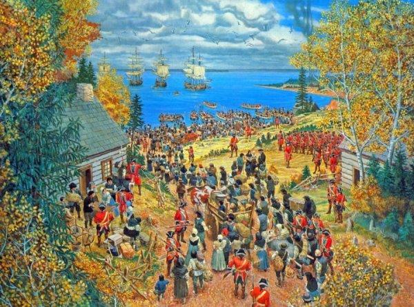 Deportation of Acadians