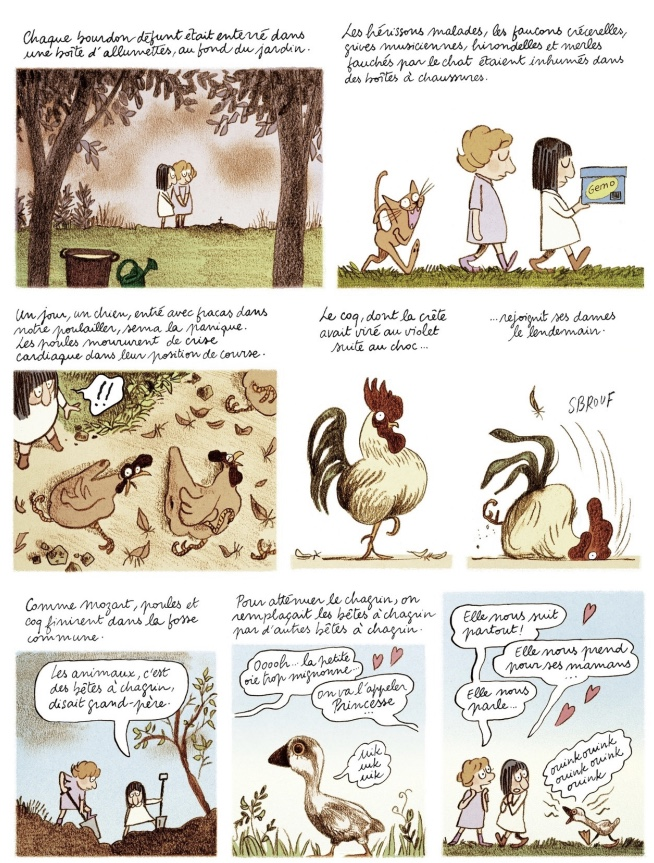 Page from Les Grands espaces