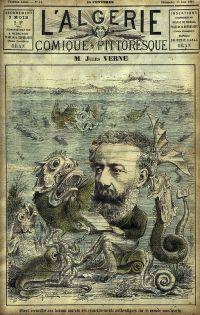Cover of L'Algérie Magazine, 1884