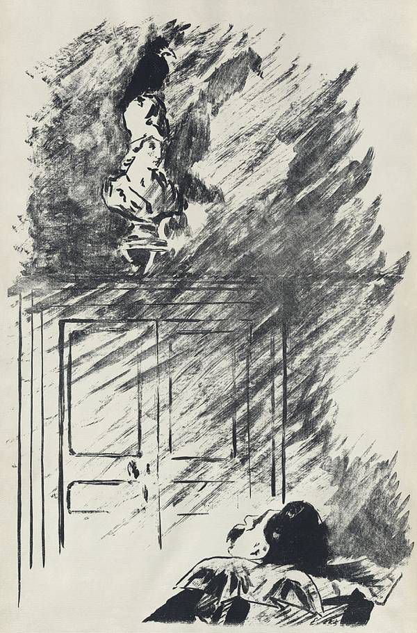 Scene from The Raven, Edouard Manet