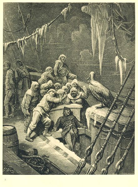 Rime of the Ancient Mariner, The bird
