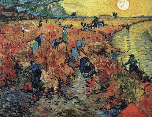 The Red Vineyard at Arles