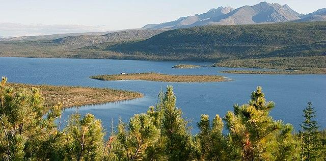 Jack London Lake, far eastern Russia