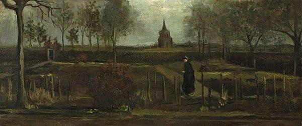 The Parsonage Garden at Nuenen