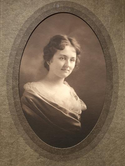 Lucile VanderVoort, circa 1915