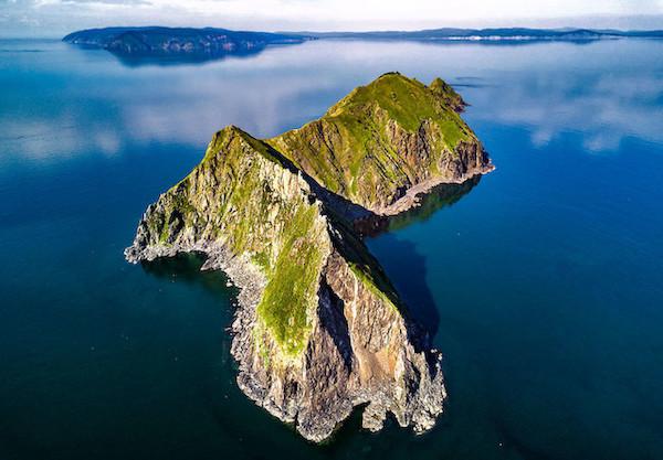 One of the Shantar Islands