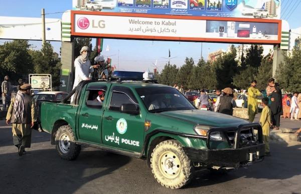 Taliban take over Kabul