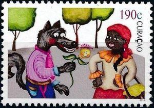 LRRH Curacao stamp