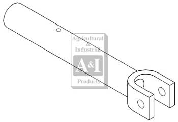 CRANK HANDLE FOR LIFT ARM SCREW, 3 POINT OR FAST HITCH