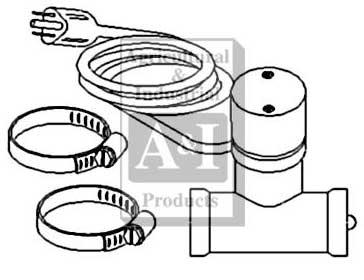 Heavy Duty Hydraulic Pump Heavy Duty Oil Pan Wiring