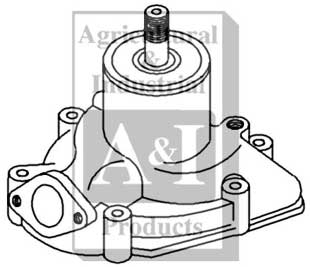 Ih Water Pump, Ih, Free Engine Image For User Manual Download