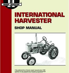 electric stove wiring diagram i t shop service manual farmall a b c  [ 1200 x 1648 Pixel ]