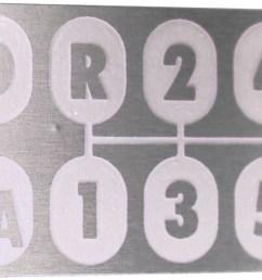 transmission shift pattern plate [ 1200 x 860 Pixel ]