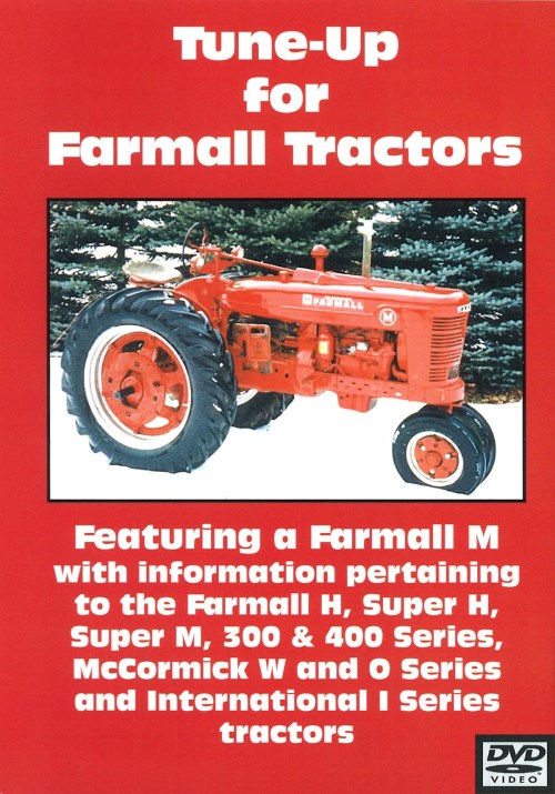 small resolution of farmall h m 300 400 tune up video dvd for the case ih 300 400 h m model tractor s