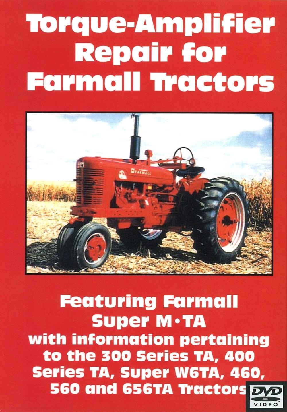 medium resolution of farmall torque amplifier repair video dvd
