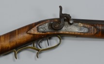 Lot 398 Stock Percussion Rifle