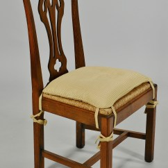 Chippendale Dining Chair Cover Rental Milwaukee Set Of 12 Style Oak Chairs