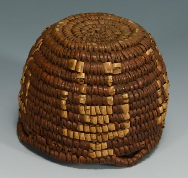 Lot 334 2 Southwest Indian Figural Baskets