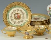 Czech Porcelain Dinnerware & 6 Vintage Czech Bohemia ...