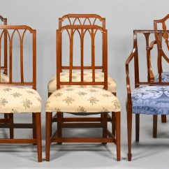Federal Dining Chairs Dxracer Gaming Lot 630 Six American Style